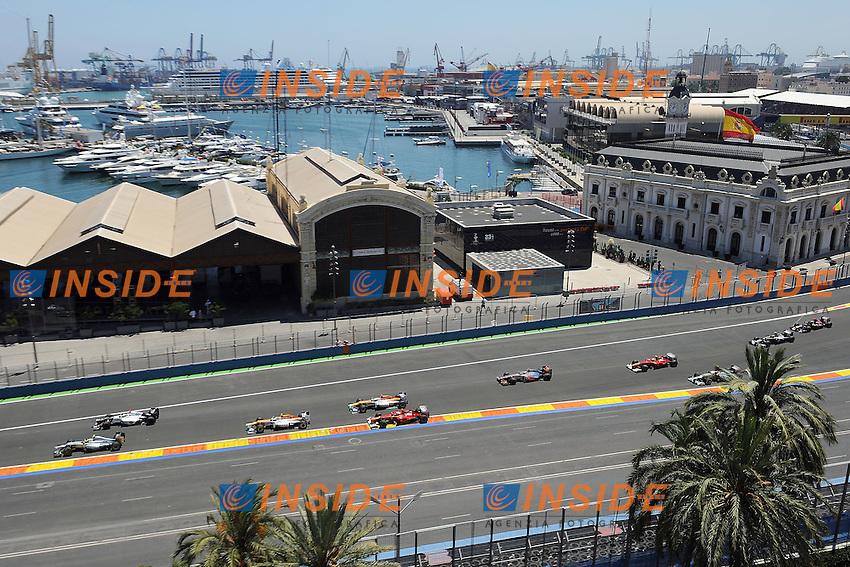 Valencia 24/06/2012 Gran Premio Formula1.Foto Insidefoto /Bernard Asset / Panoramic.ITALY ONLY.
