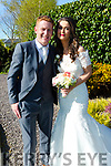 Liz Guiney, daughter of Helen and the late William, Clough,Rochchapel,Co Cork, and Dan McAuliffe, son of Maurice and Mary McAuliffe, Carrigeen,Brosna,Co Kerry who were married on saturday in St Carthages Church,Brosna, Fr Anthony O'Sullivan officiated at the ceremony,. Best man was Stephen McAuliffe(brother of the groom) and best men were, Paul Curtin and Tom McAuliffe. Bridesmaids were, Geraldine Walsh,Bríd O'Rourke and Denise O'Connor. Flowergirl was Olivia Guines and Pageboy was Harrison O'Callaghan. The reception was held in ballygarry House Hotel & Spa, Tralee. The coule will reside Carrigean,Brosna Co,Kerry.