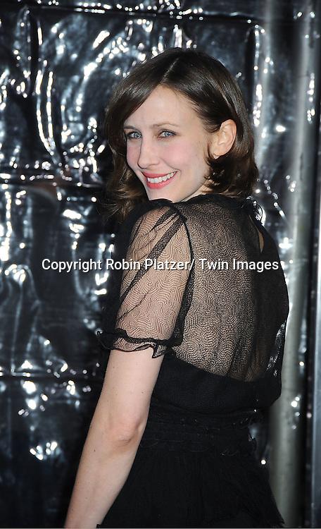 "actress Vera Farmiga attends The World Premiere of ""Hugo in 3D"" on November 21, 2011 at The Ziegfeld Theatre in New York City."