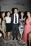 Kristi Yamaguchi- Maia & Alex Shibutani - Michelle Kwan - Meryl Davis - 10th Annual Gala celebrating Figure Skating in Harlem's 18th year of operations at The Stars 2015 Benefit Gala on April 13, 2015 in New York City, New York honoring Olympic Champion Evan Lysacek, Gloria Steinem and Nicole, Alana and Juliette Feld with Mary Wilson as Mistress of Ceremony. (Photos by Sue Coflin/Max Photos)