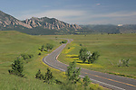 Rural road in Boulder, Colorado, John offers private photo tours of Boulder, Denver and Rocky Mountain National Park. .  John leads private photo tours in Boulder and throughout Colorado. Year-round Colorado photo tours.