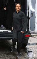 www.acepixs.com<br /> <br /> January 24 2017, New York City<br /> <br /> Actress and singer Rihanna was on the Midtown Manhattan set of the new movie 'Ocean's Eight' on January 24 2017 in New York City<br /> <br /> By Line: Zelig Shaul/ACE Pictures<br /> <br /> <br /> ACE Pictures Inc<br /> Tel: 6467670430<br /> Email: info@acepixs.com<br /> www.acepixs.com