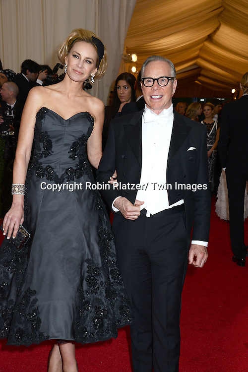 Dee and Tommy Hilfiger attends the Costume Institute Benefit on May 5, 2014 at the Metropolitan Museum of Art in New York City, NY, USA. The gala celebrated the opening of Charles James: Beyond Fashion and the new Anna Wintour Costume Center.