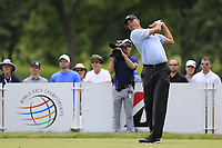 Matt Kuchar (USA) tees off the 3rd tee during Sunday's Final Round of the WGC Bridgestone Invitational 2017 held at Firestone Country Club, Akron, USA. 6th August 2017.<br /> Picture: Eoin Clarke | Golffile<br /> <br /> <br /> All photos usage must carry mandatory copyright credit (&copy; Golffile | Eoin Clarke)