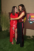 HOLLYWOOD, CA - OCTOBER 10: Ione Skye, Jennifer Garner, at The Los Angeles Premiere of HBO's Camping at Paramount Studios in Hollywood, California on October 10, 2018. Credit: Faye Sadou/MediaPunch
