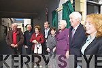 pictured at the unveiling of a Commerative plaque at Denny lane, Tralee on Tuesday.