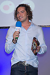 01.06.2012. Telecinco presents its official schedule for the transmission of Eurocup 2012 to the Ciudad del Futbol of Las Rozas, Madrid. In the image David Bisbal (Alterphotos/Marta Gonzalez)