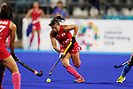 Yukari Mano (JPN), <br /> AUGUST 31, 2018 - Hockey : <br /> Women's Final match <br /> between Japan 2-1 India  <br /> at Gelora Bung Karno Hockey Field <br /> during the 2018 Jakarta Palembang Asian Games <br /> in Jakarta, Indonesia. <br /> (Photo by Naoki Morita/AFLO SPORT)