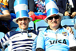 ENG - Leicester, England, October 11: Before the Pool C rugby match between Argentina (blue/white) and Namibia (blue) on October 11, 2015 at Leicester City Stadium in Leicester, England. Final score 64-19 (HT 36-7). (Photo by Dirk Markgraf / www.265-images.com) *** Local caption ***