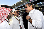 King Salman bin Hamad bin Isa Al Khalifa - Gerhard Berger (AUT)<br />  Foto &copy; nph / Mathis