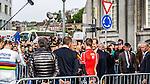 King Philippe of Belgium, before the start, Liège, Belgium, 27 April 2014, Photo by Pim Nijland / www.pelotonphotos.com