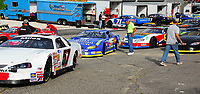 Drivers line up for time trials Saturday afternoon beginning at 5:30 at Dells Raceway Park in the Wisconsin Dells.
