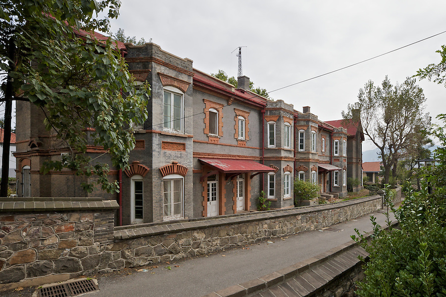 Customs Residential Terrace On Consular Hill, Yantai (Chefoo).