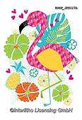Lamont, CUTE ANIMALS, LUSTIGE TIERE, ANIMALITOS DIVERTIDOS, paintings+++++,USGTJF2117A,#ac#, EVERYDAY,flamingo,flamingos