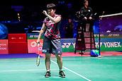 17th March 2018, Arena Birmingham, Birmingham, England; Yonex All England Open Badminton Championships; Akane Yamaguchi (JPN) celebrates winning her semi-final match against Pusarla V Singhu (IND)