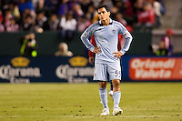 Sporting Kansas City DP forward Omar Bravo (99). Sporting KC defeated CD Chivas USA 3-2 at Home Depot Center stadium in Carson, California on Saturday March 19, 2011...