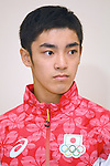Kenzo Shirai (JPN), <br /> JULY 19, 2016 - Artistic Gymnastics : <br /> Japan Men's Artistic Gymnastics national team send-off press conference <br /> for the Rio 2016 Olympic Games in Tokyo, Japan. <br /> (Photo by AFLO SPORT)