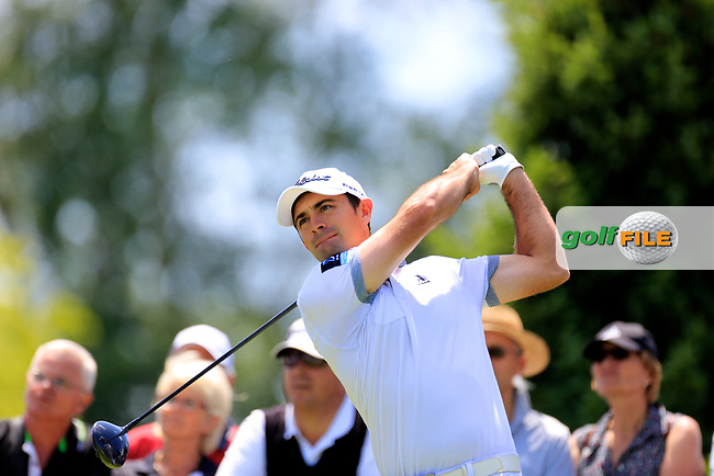 Gary Stal (FRA) during the first round of the Lyoness Open powered by Organic+ played at Diamond Country Club, Atzenbrugg, Austria. 8-11 June 2017.<br /> 08/06/2017.<br /> Picture: Golffile | Phil Inglis<br /> <br /> <br /> All photo usage must carry mandatory copyright credit (&copy; Golffile | Phil Inglis)