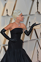LOS ANGELES, CA. February 24, 2019: Lady Gaga at the 91st Academy Awards at the Dolby Theatre.<br /> Picture: Paul Smith/Featureflash