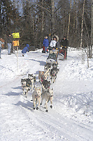 Jon Korta Anchorage Start Iditarod 2008.