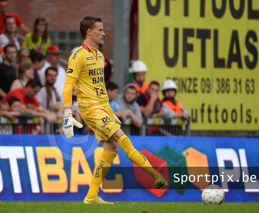 SV Zulte Waregem : Sammy Bossut <br /> foto VDB / BART VANDENBROUCKE