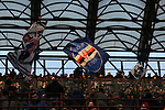 Sampdoria fans in the third tier wave flags during the Serie A match at Giuseppe Meazza, Milan. Picture date: 6th January 2020. Picture credit should read: Jonathan Moscrop/Sportimage