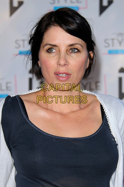 SADIE FROST.New Look 'Style the Nation' Party, London, England..May 10th, 2011.headshot portrait black white.CAP/CJ.©Chris Joseph/Capital Pictures.