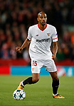 Steven N'Zonzi of Sevilla during the Champions League Group E match at the Anfield Stadium, Liverpool. Picture date 13th September 2017. Picture credit should read: Simon Bellis/Sportimage