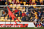 17.02.2019: Motherwell v Hearts: Colin Doyle makes a save