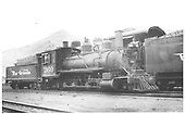 3/4 engineer's-side view of D&amp;RGW #360 alongside a standard gauge engine in the Salida yard.<br /> D&amp;RGW  Salida, CO  7/12/1946