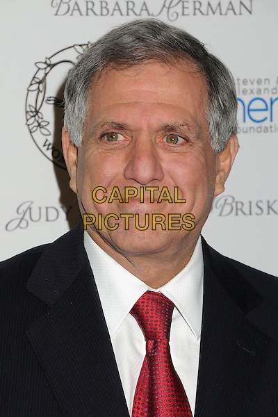 Leslie Moonves.55th Annual Women's Guild Cedars-Sinai Gala held at the Beverly Wilshire Hotel, Beverly Hills, California, USA..November 13th, 2012.headshot portrait les black suit white shirt red tie.CAP/ADM/BP.©Byron Purvis/AdMedia/Capital Pictures.