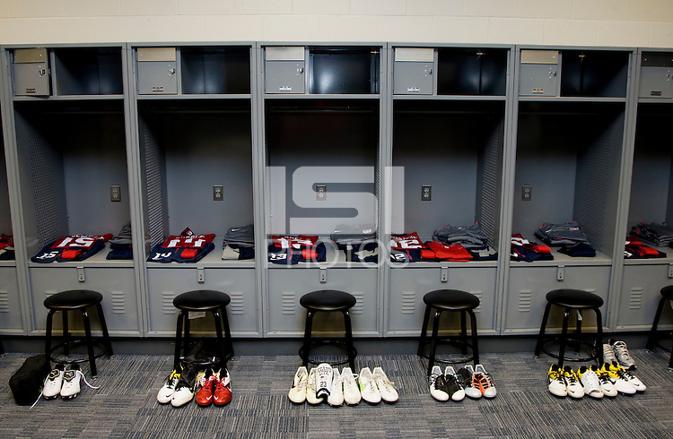 Locker Room. The USMNT tied Argentina, 1-1, at the New Meadowlands Stadium in East Rutherford, NJ.