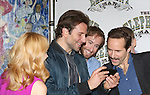 Patricia Clarkson, Bradley Cooper, Eric Clem and Alessandro Nivola attend the 'The Elephant Man' Broadway Cast photo call at Sardi's on October 21, 2014 in New York City.