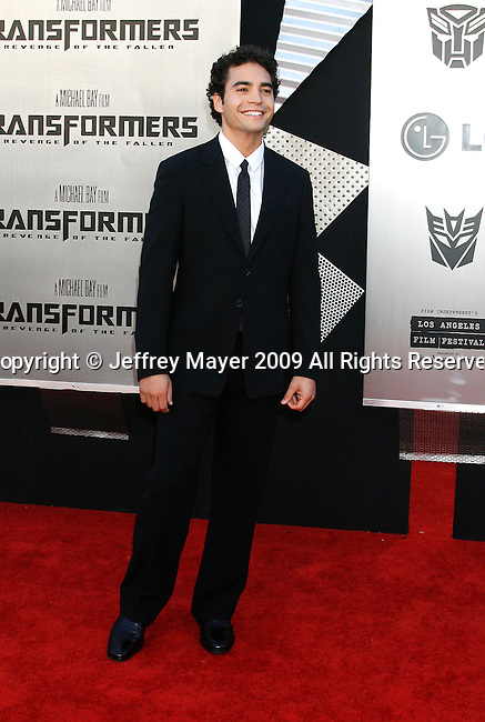 "WESTWOOD, CA. - June 22: Ramon Rodriguez arrives at the 2009 Los Angeles Film Festival - The Los Angeles Premiere of ""Transformers: Revenge of the Fallen"" at Mann's Village Theater on June 22, 2009 in Los Angeles, California."
