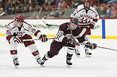Seb Lloyd (Harvard - 15), Brett Corkey (Colgate - 20) -  - The Harvard University Crimson defeated the visiting Colgate University Raiders 7-4 (EN) on Saturday, February 20, 2016, at Bright-Landry Hockey Center in Boston, Massachusetts.