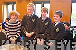 Evan Lynn, Dan Connolly, Paul Curtin and Jason Murphy from Knockaclarig  NS Brosna at the Tralee Credit Union Primary Schools Quiz, held at Ballyroe Heights Hotel on Sunday