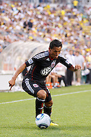 26 JUNE 2010:  Andy Najar #14 of DC United during MLS soccer game between DC United vs Columbus Crew at Crew Stadium in Columbus, Ohio on May 29, 2010. The Crew defeated DC United 2-0.