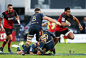 June 3rd 2017, AMI Stadium, Christchurch, New Zealand; Super Rugby; Crusaders versus Highlanders;  Seta Tamanivalu of the Crusaders. Super Rugby match