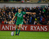 4th November 2017, Galway Sportsground, Galway, Ireland; Guinness Pro14 rugby, Connacht versus Cheetahs; Jack Carty  with a conversion for Connacht