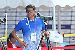 Nobukane Tanaka (JPN), <br /> AUGUST 27, 2018 - Archery : <br /> Women's Recurve Team Bronze Medal Match<br /> at Gelora Bung Karno Archery Field <br /> during the 2018 Jakarta Palembang Asian Games <br /> in Jakarta, Indonesia. <br /> (Photo by Naoki Morita/AFLO SPORT)