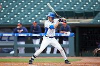 Michael Smiciklas (16) of the Duke Blue Devils at bat against the Virginia Cavaliers in Game Seven of the 2017 ACC Baseball Championship at Louisville Slugger Field on May 25, 2017 in Louisville, Kentucky. The Blue Devils defeated the Cavaliers 4-3. (Brian Westerholt/Four Seam Images)