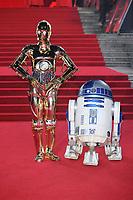 DEC 12 European Premiere of Star Wars - The Last Jedi