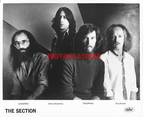 The SECTION..Leland Sklar, Danny Kortchmar, Craig Doerge , Russ Kunkel