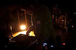 """DJ DZ, masterclass bat ematen Portuko Rampan. Ondarru (Euskal Herri) 2013ko Urriaren 11a. Marabilli sormen festibala"""" Aitzol Aramaio zenaren indarrarekin jaiotako egitasmo bat da eta helburua da hainbat artista Ondarroan biltzea, idazleak, musikariak, zinegileak, antzerkilariak, artista plastikoak, diseinatzaileak...  (Gari Garaialde / Bostok Photo)"""