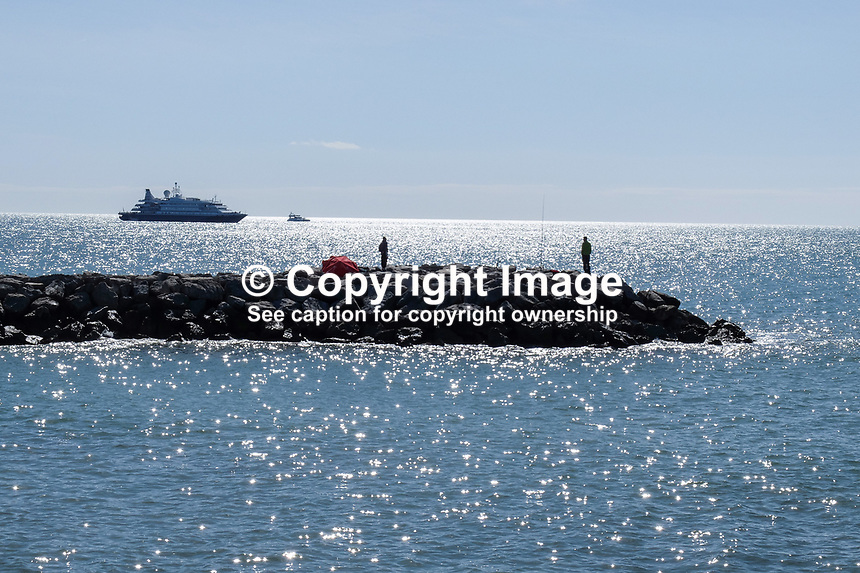 Cruise ship, Sea Dream 1, moored off Puerto Banus, Marbella, Spain, 30th April 2017, 201704303524<br /> <br /> Copyright Image from Victor Patterson, 54 Dorchester Park, Belfast, UK, BT9 6RJ<br /> <br /> t1: +44 28 9066 1296 (from Rep of Ireland 048 9066 1296)<br /> t2: +44 28 9002 2446 (from Rep of Ireland 048 9002 2446)<br /> m: +44 7802 353836<br /> <br /> e1: victorpatterson@me.com<br /> e2: victorpatterson@gmail.com<br /> <br /> The use of any of my copyright images is subject to my Terms &amp; Conditions. It is IMPORTANT that you familiarise yourself with them. They are available at my website, victorpatterson.com.<br /> <br /> None of my copyright images may be used on the Internet unless they are visibly watermarked, i.e. &copy; Victor Patterson within the body of the image. My metadata, denoting my copyright must NOT be deleted. <br /> <br /> Web use is extra at currently recommended NUJ rates. Maximum permitted web size is<br />  400kb. <br /> <br /> Images must not be passed on to a third party - they are for the use of the authorised recipient only.