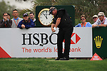 Darren Clarke teeing off on the 9th on day two of the Abu Dhabi HSBC Golf Championship 2011, at the Abu Dhabi golf club, UAE. 21/1/11..Picture Fran Caffrey/www.golffile.ie.