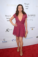 LOS ANGELES, CA - MAY 6: Constance Marie at the 11th Annual George Lopez Foundation Celebrity Golf Classic Pre-Party, Baltaire Restaurant, Los Angeles, California on May 6, 2018. David Edwards/MediaPunch