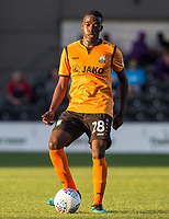 Darnell Smith of Barnet during the 2017/18 Pre Season Friendly match between Barnet and Swansea City at The Hive, London, England on 12 July 2017. Photo by Andy Rowland.