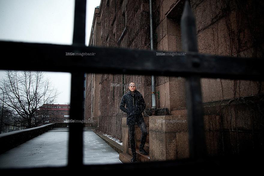 Oslo, Norge, 07.03.2012. Espen A. Eik i Ballade fotografert ved Solli plass. Foto. Christopher Olssøn.