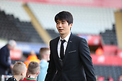 4th November 2017, Liberty Stadium, Swansea, Wales; EPL Premier League football, Swansea City versus Brighton and Hove Albion; Ki Sung-Yueng of Swansea City